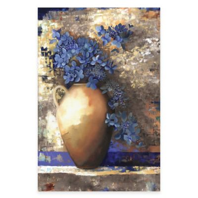 Louise Montillio Provence Urn II Canvas Wall Art