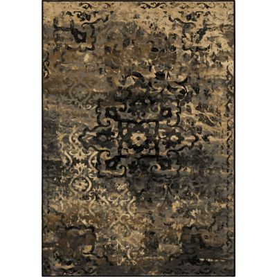 Aria Rugs Galaxy Blended Medallion 7-Foot 10-Inch x 10-Foot 10-Inch Multicolor Area Rug