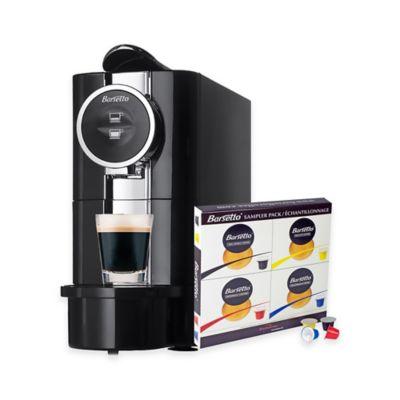Koolatron Barsetto Espresson Machine with 20-Pod Sampler