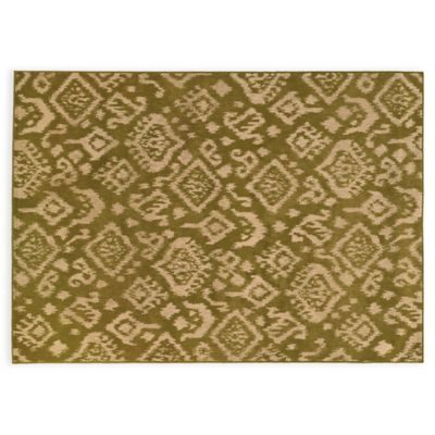 Oriental Weavers ELLA Tribal 3-Foot 3-Inch x 5-Foot 5-Inch Accent Rug in Green
