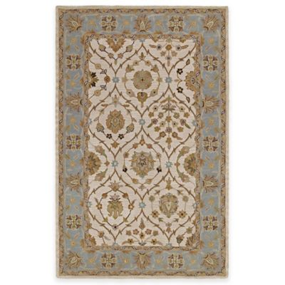 Kaleen Khazana Jefferson 7-Foot 6-Inch x 9-Foot Area Rug in Linen