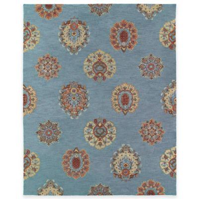Kaleen Brooklyn Tatum 7-Foot 6-Inch x 9-Foot Area Rug in Spa