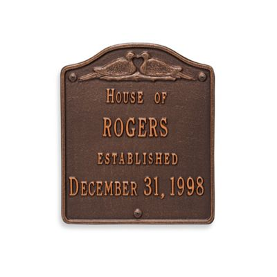 Personalized Wall Plaques