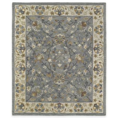 Kaleen Brooklyn Keaton 5-Foot x 7-Foot 6-Inch Area Rug in Pewter