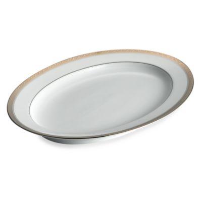 Noritake® Crestwood Platinum 16-Inch Oval Platter