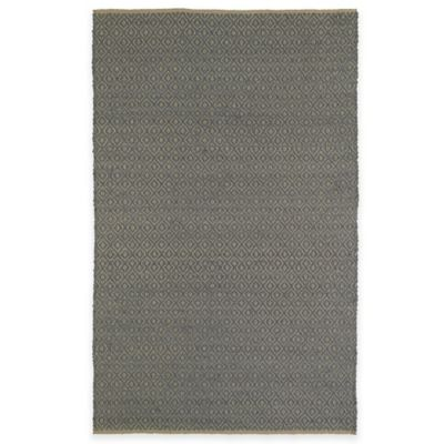 Kaleen Colinas Diamonds 1-Foot 9-Inch x 2-Foot 10-Inch Accent Rug in Slate