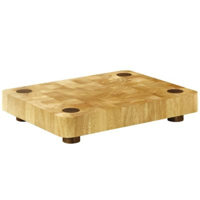 Typhoon® Rectangular 13-Inch x 17-Inch Wood Butcher Block