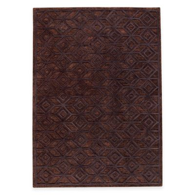 M.A. Trading Alhambra 8-Foot x 10-Foot Area Rug in Black