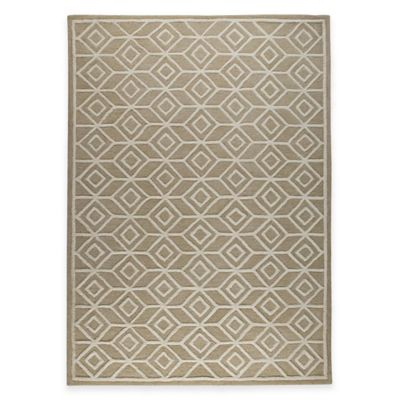 M.A. Trading Alhambra 8-Foot x 10-Foot Area Rug in Beige