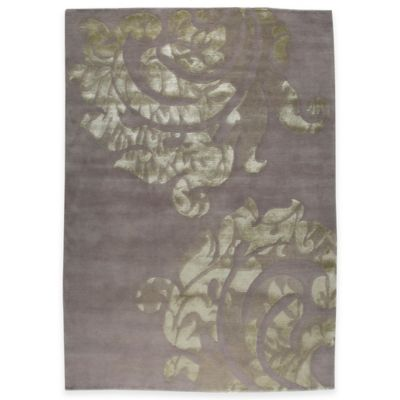 Almeria 5-Foot 6-Inch x 7-Foot 10-Inch Area Rug in Brown