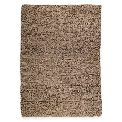 M.A. Trading Berber Plush 5-Foot 6-Inch x 7-Foot 10-Inch Area Rug in Beige