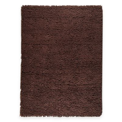 M.A. Trading Berber Plush 5-Foot 6-Inch x 7-Foot 10-Inch Area Rug in Brown