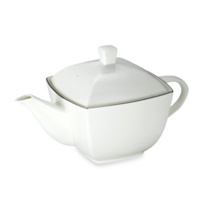Mikasa® Couture Platinum 40-Ounce Tea Pot