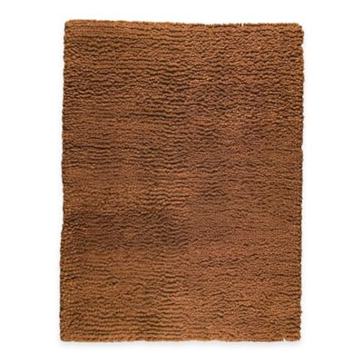 M.A. Trading Berber Plush 5-Foot 6-Inch x 7-Foot Area Rug in Bronze