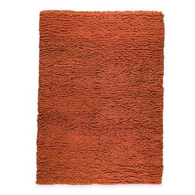 M.A. Trading Berber Plush 8-Foot 3-Inch x 11-Foot 6-Inch Area Rug in Orange