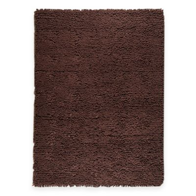 M.A. Trading Berber Plush 8-Foot 3-Inch x 11-Foot 6-Inch Area Rug in Brown