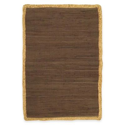 42 Brown Accent Rug