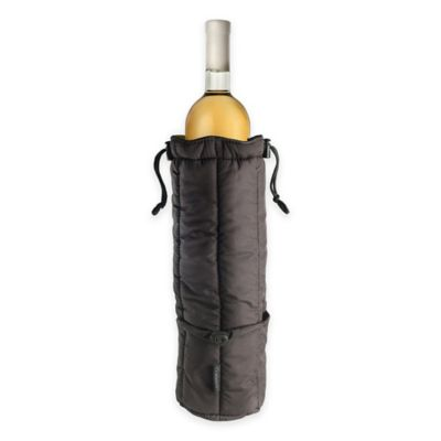 Rabbit® Insulated Wine Tote in Black