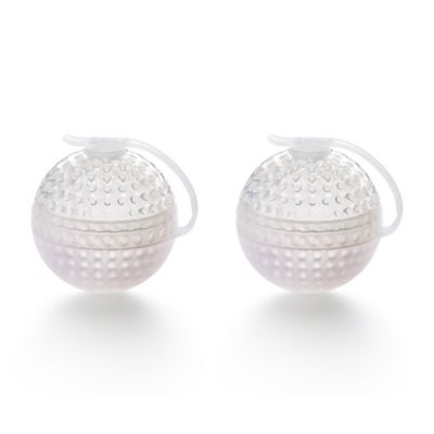Lékué Ice Block Golf Ball Sphere Molds (Set of 2)