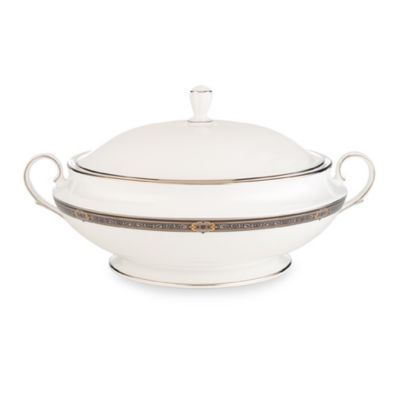 Lenox® Vintage Jewel® 64-Ounce Covered Vegetable Bowl