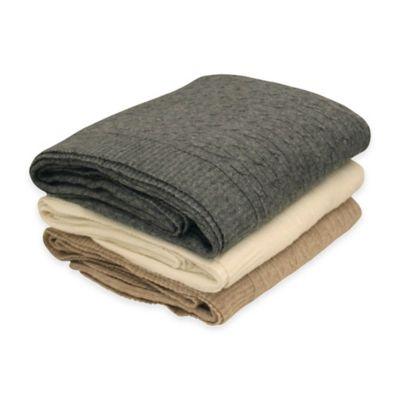 Heather Grey Throw Blankets