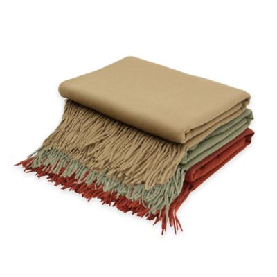 Khaki Comfort Throw
