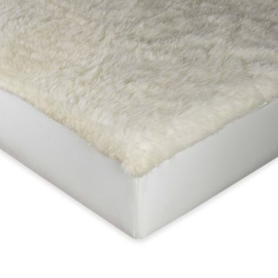 myDual™ Washable and Reversible Wool Twin/Twin XL Mattress Pad in Ivory