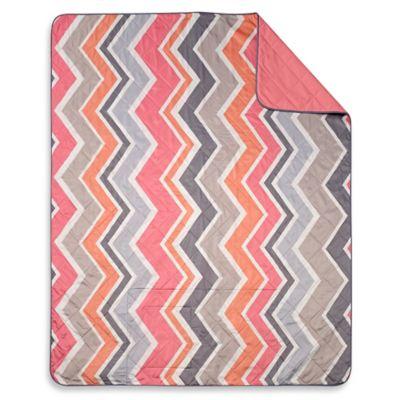 Keeco Chevron Indoor/Outdoor Throw Blanket