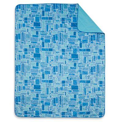 Keeco Tile Indoor/Outdoor Throw Blanket