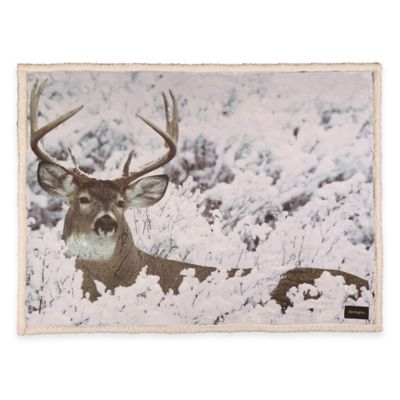 Remington® Photoreal Deer Printed Throw