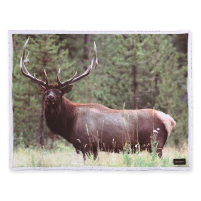 Remington® Photoreal Elk Printed Throw