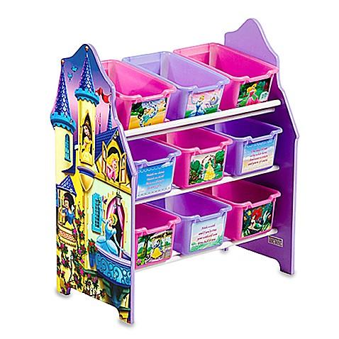 Disney Princess 9 Bin Toy Organizer By Delta Bed Bath