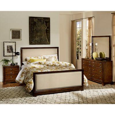 Verona Home Brixley 4-Piece Queen Bedroom Set in Cherry