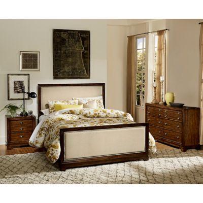 Verona Home Brixley 3-Piece Queen Bedroom Set in Cherry