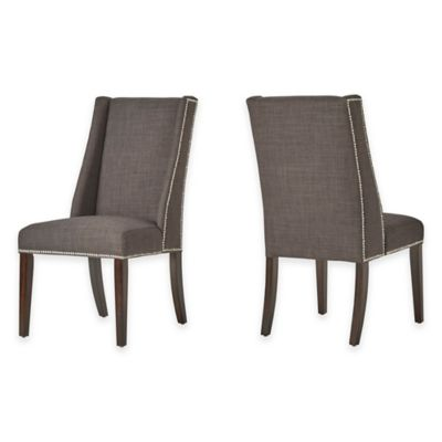 Verona Home Camelia Side Chairs in Tan (Set of 2)