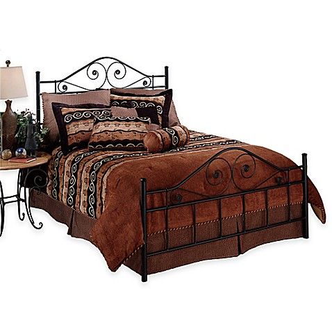 Hillsdale Harrison Headboard In Textured Black Bed Bath Beyond