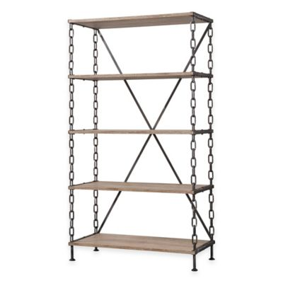 Verona Home Karnack Wide Bookcase