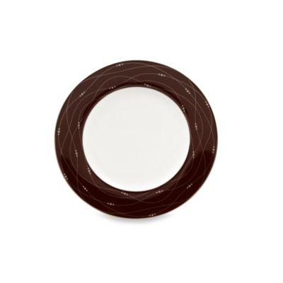 Precious Platinum 9-Inch Cocoa Accent Plate
