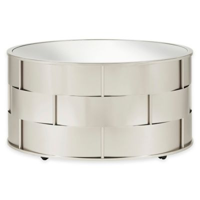 Verona Home Rivina Mirrored Top Cocktail Table