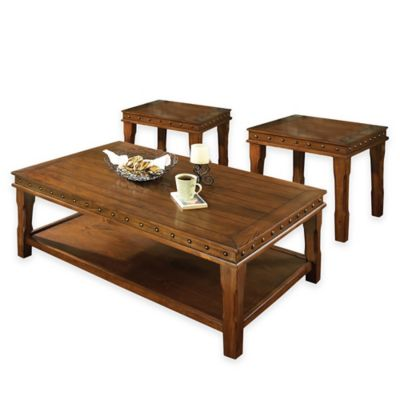 Steve Silver 3-Piece Odessa Table Set