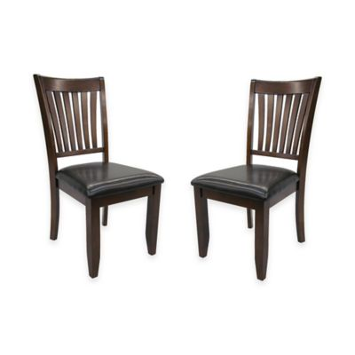 Steve Silver Co. Josie Side Chairs in Red Oak (Set of 2)