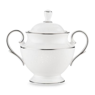 Lenox® Floral Veil™ Covered Sugar Bowl