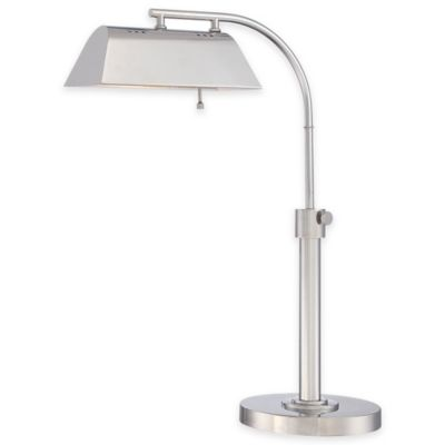 Quoizel Kenton Task Lamp in Polished Nickel