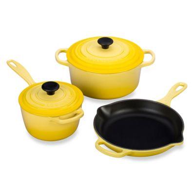 Le Creuset® Signature 5-Piece Cookware Set in Soleil
