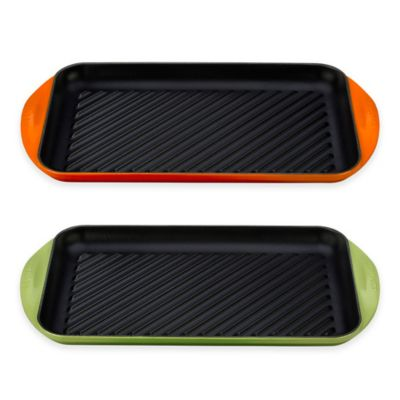 Le Creuset® X-Large Double Burner Grill in Flame