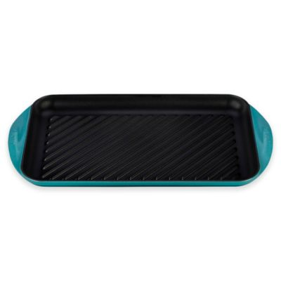 Le Creuset® X-Large Double Burner Grill in Palm