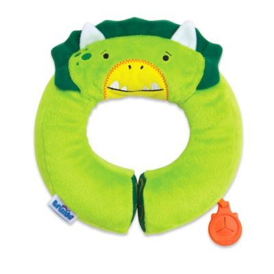 Trunki Yondi Kid's Head and Neck Support Travel Pillow in Green