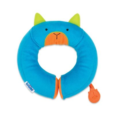Blue Kids Travel Pillow