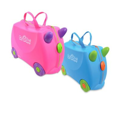 Trunki Ride-On Bernard Travel Case in Yellow