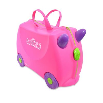 Trunki Ride-On Trixie Travel Case in Pink